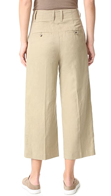 Vince High Waisted Crop Pants