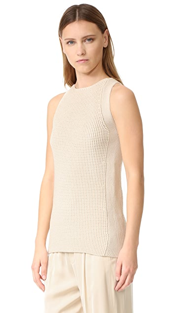 Vince Sleeveless Tunic Sweater
