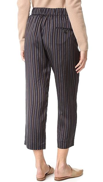 Vince Slouchy Crop Drawstring Pants