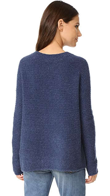 Vince Oversized Crew Sweater