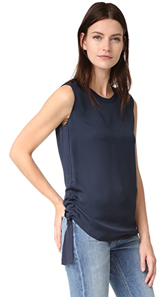 Vince Rouched Rib Top