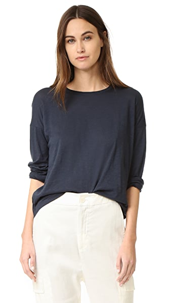Vince Relaxed Crew Neck Tee