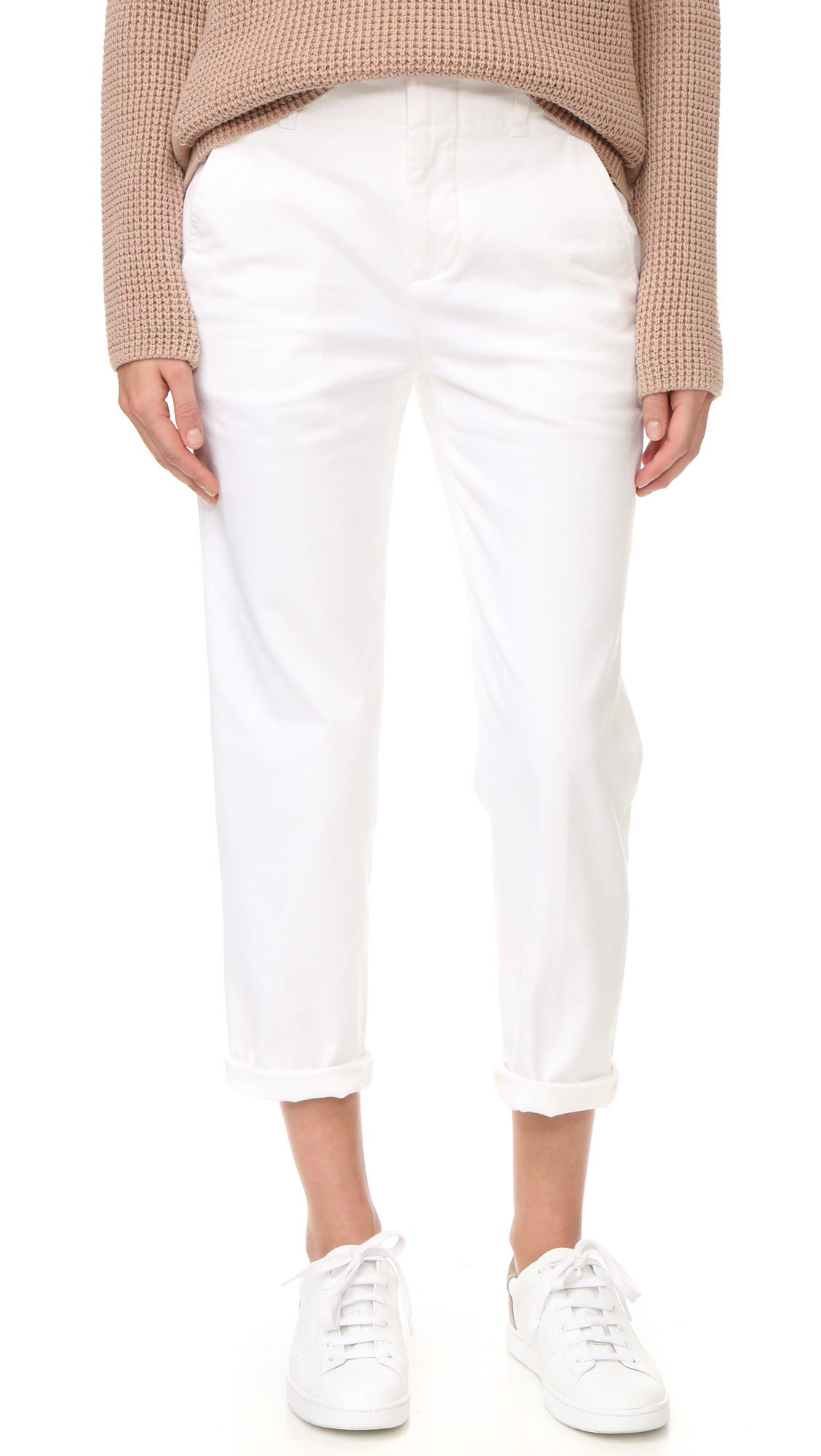 Vince Chino Pants - White at Shopbop