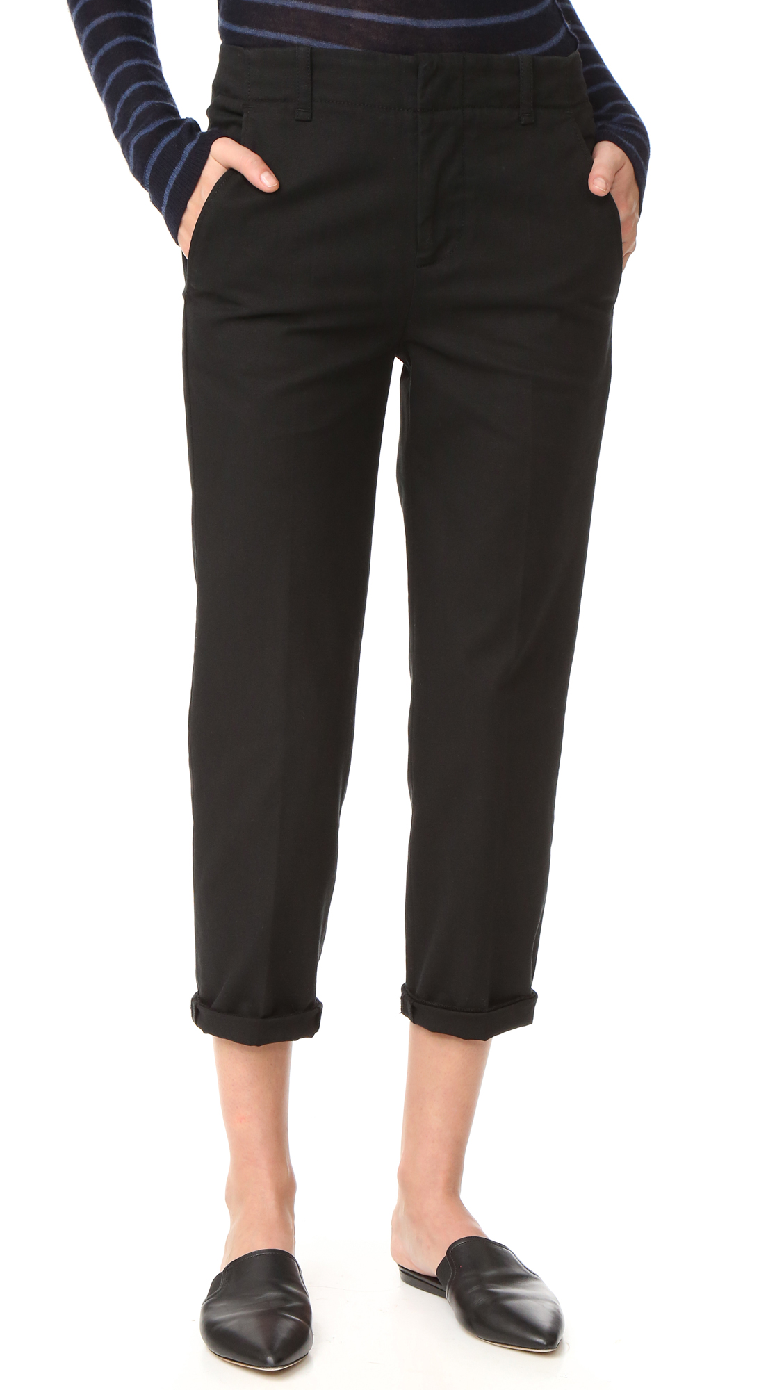 Vince Chino Pants - Black at Shopbop