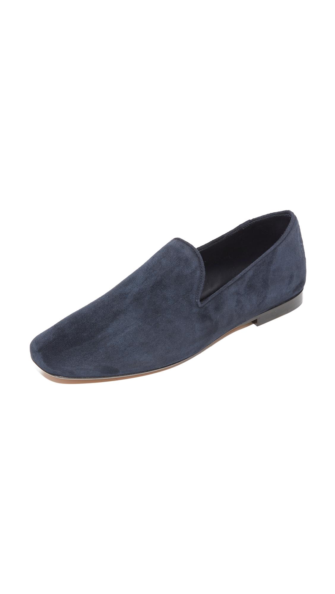 vince female vince bray 2 loafers deep blue