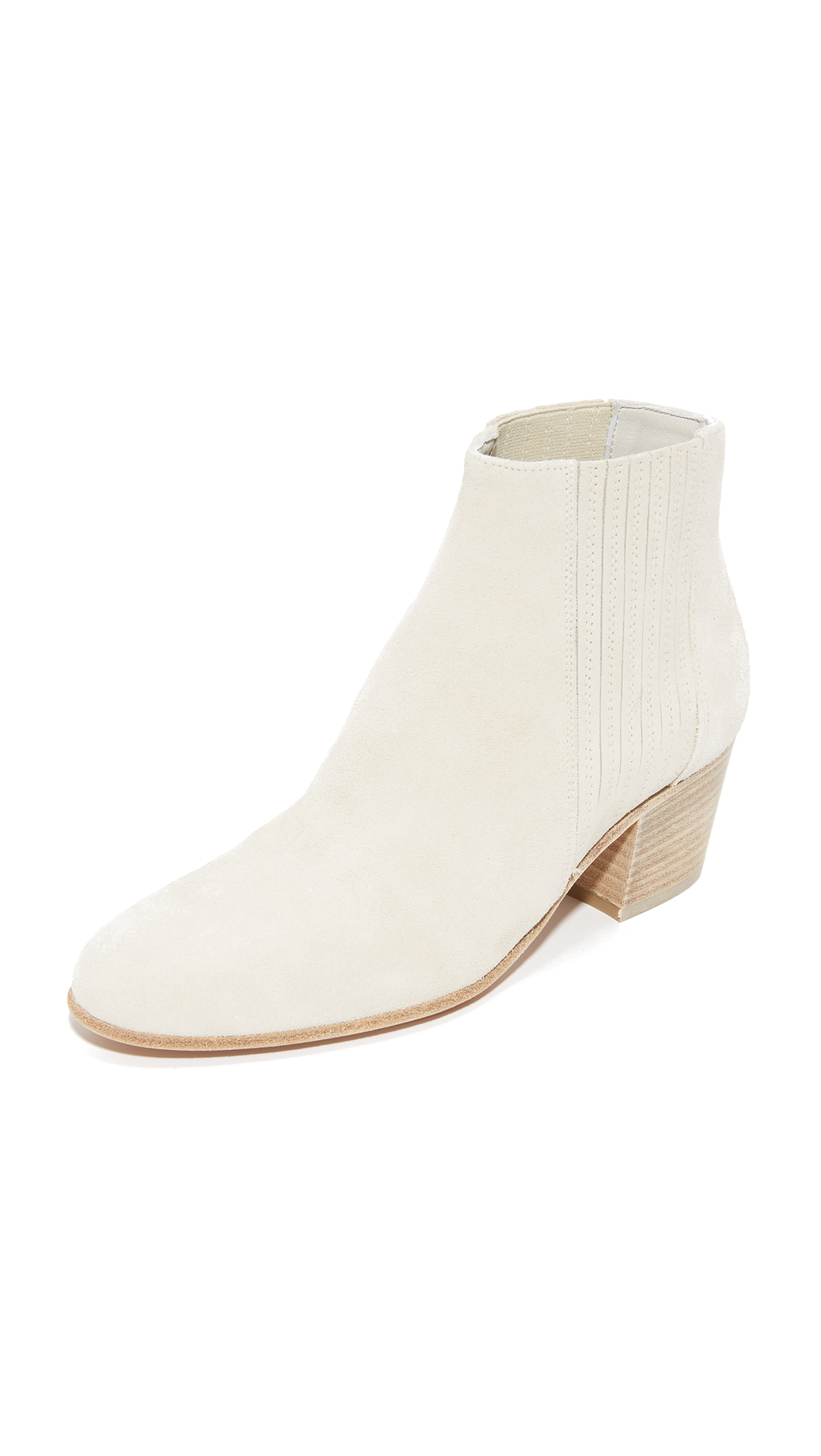 Vince Haider Booties - Grey/White