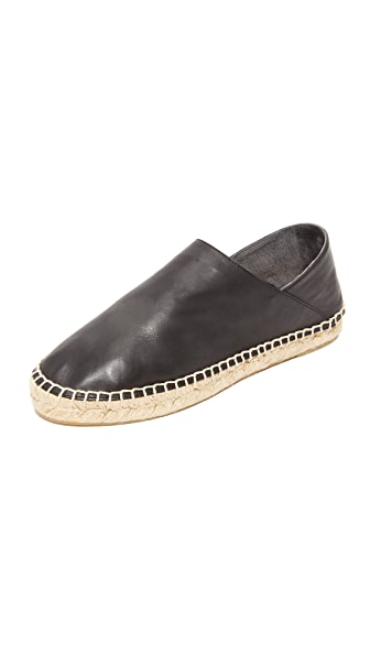 Vince Rachel Collapsible Back Espadrilles - Black