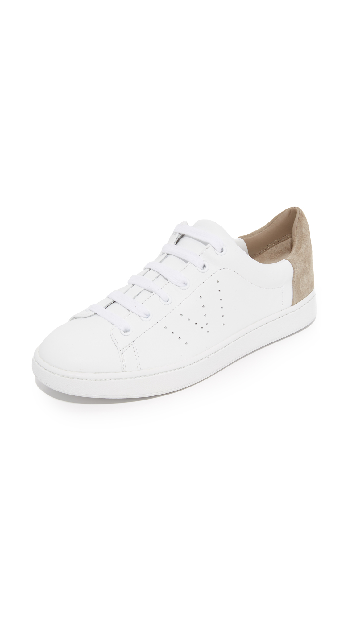 Photo of Vince Varin Sneakers Optic White-Woodsmoke - Vince online