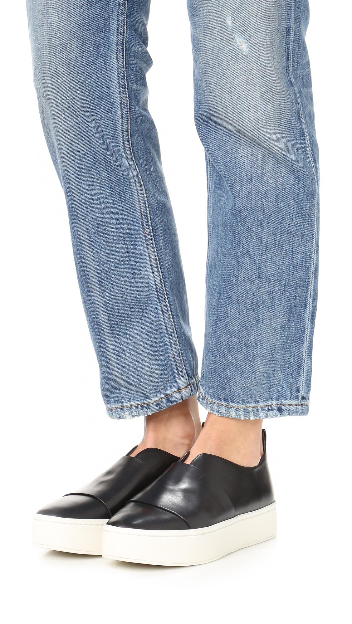 34b5bd74843 Vince Wallace Slip On Sneakers