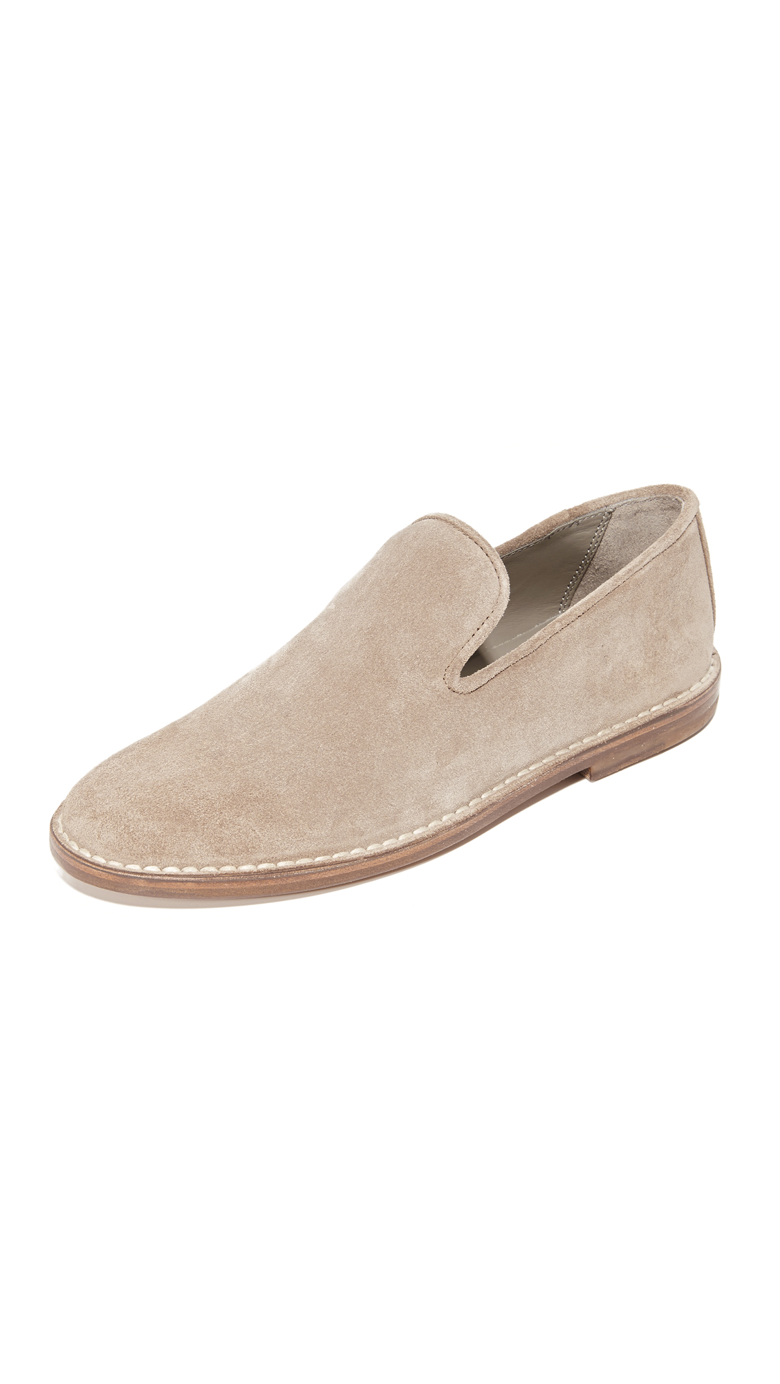 vince female vince percell loafers woodsmoke
