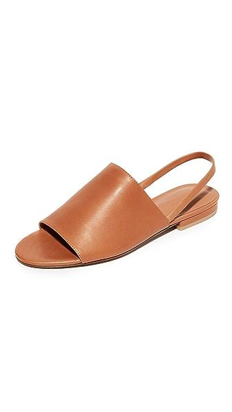 Vince Dawson Slingback Sandals - Caramel