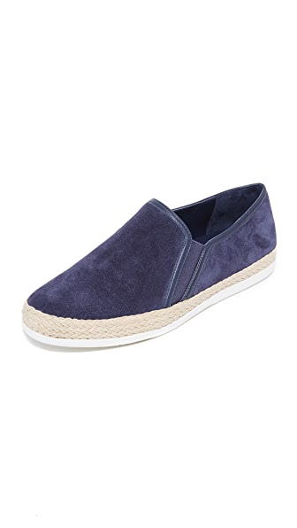 Vince Acker Slip On Sneakers - Deep Blue
