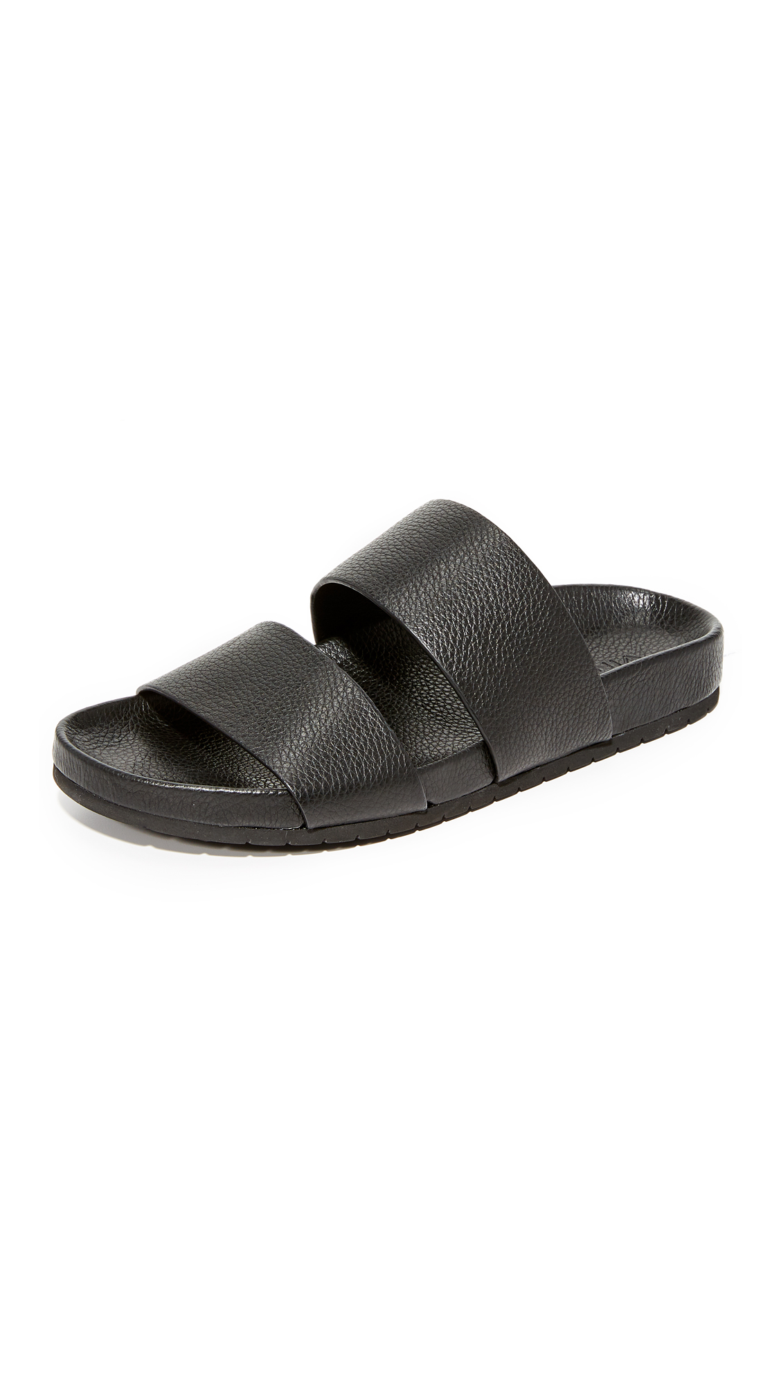 Vince Georgie Two Band Slide Sandals