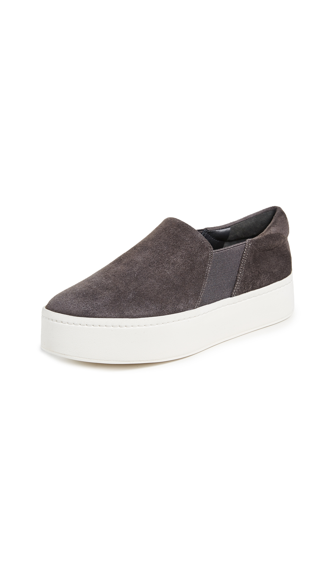 Vince Warren Platform Sneakers - Steel
