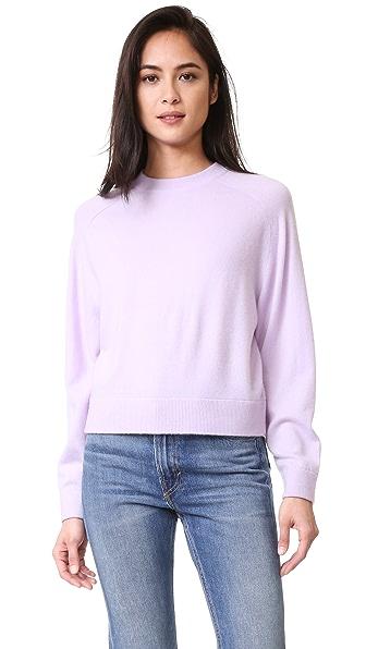 Vince Raglan Sleeve Cashmere Sweater | SHOPBOP