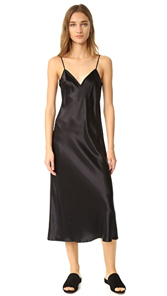 Vince V Neck Slip Dress at Shopbop