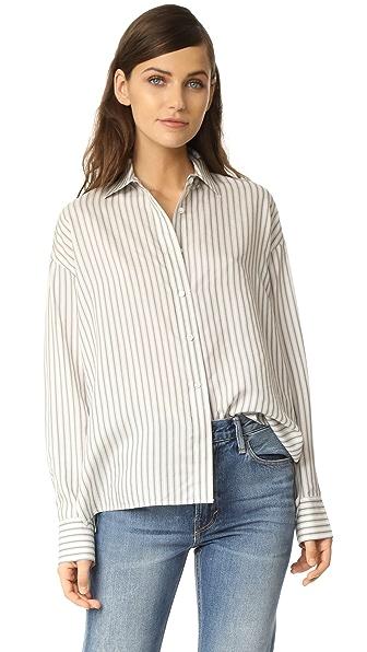 Vince Menswear Stripe Shirt