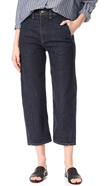 Vince High Rise Utility Jeans at Shopbop