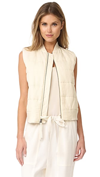 Vince Quilted Vest at Shopbop