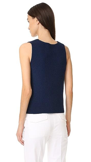 Vince Rib Sweater Tank