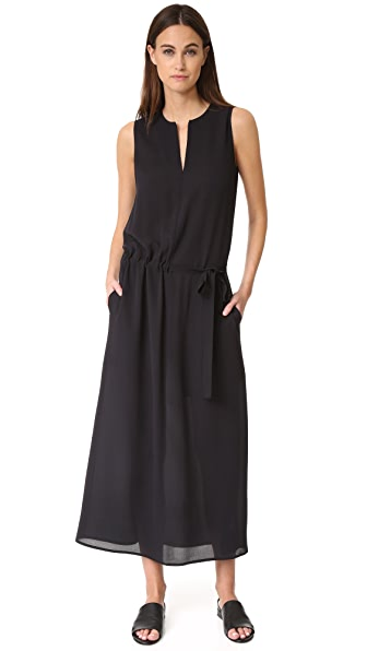 Vince Split Neck Dress at Shopbop