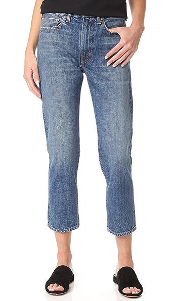 Vince Union Slouch Jeans - Mid Wash