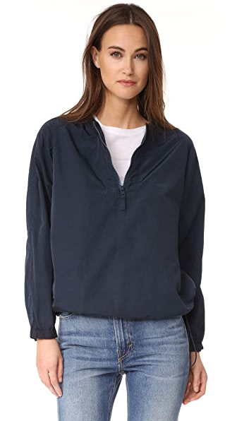 Vince Washed Anorak Pullover at Shopbop