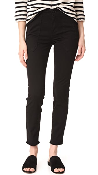 Vince Skinny Military Pants - Black