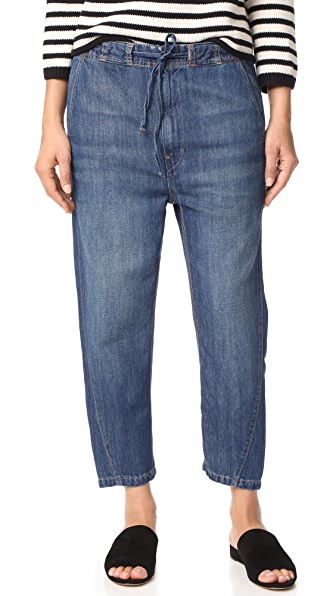 Vince Drawstring Workwear Jeans