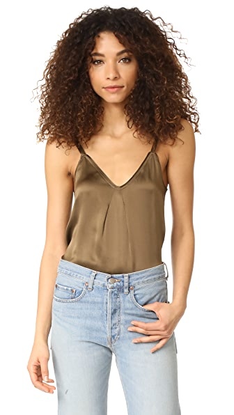 Vince Pleat Neck Cami
