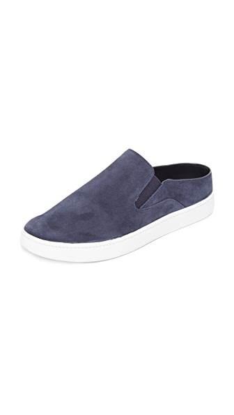 VERRELL SUEDE OPEN-BACK SKATE SNEAKERS