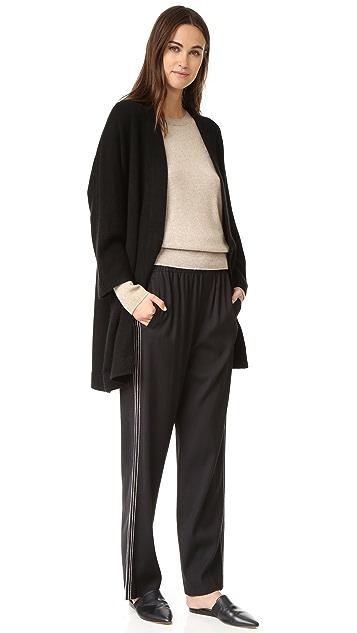 Vince Blanket Cashmere Sweater Coat