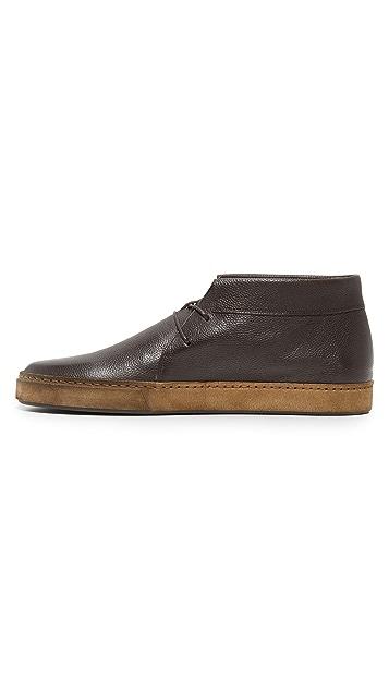 Vince Novato Leather Chukkas