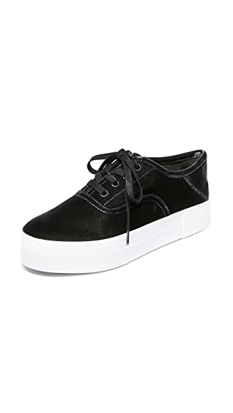 Vince Copley Platform Sneakers In Graphite