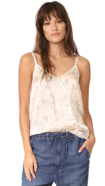 Vince Large Two Tone Floral Cami