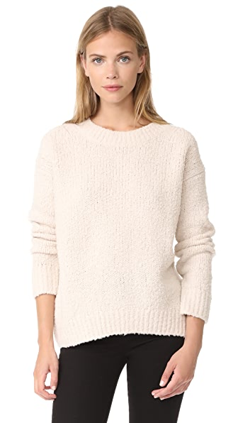 Vince Textured Wool Pullover