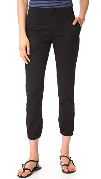 Vince Patch Front Utility Pants - Black Wash