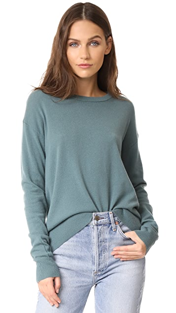 Vince Boxy Cashmere Pullover Sweater