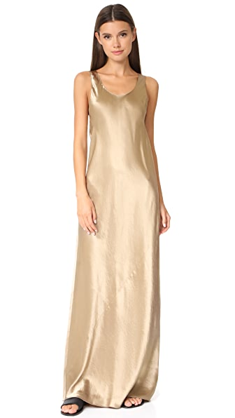 Vince Bias Maxi Dress - Camel