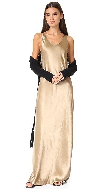 Vince Bias Maxi Dress