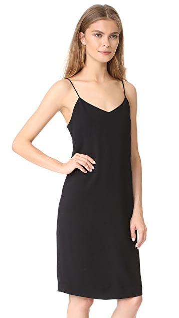 Vince V Neck Cami Dress
