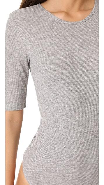 Vince Half Sleeve Bodysuit