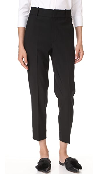 Vince Cropped Trousers - Black
