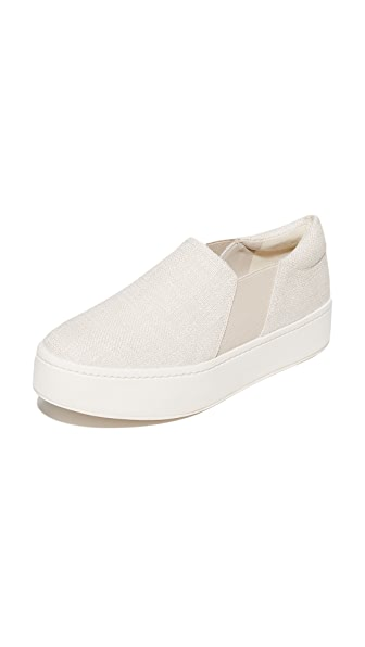 Vince Warren Platform Sneakers - Off White
