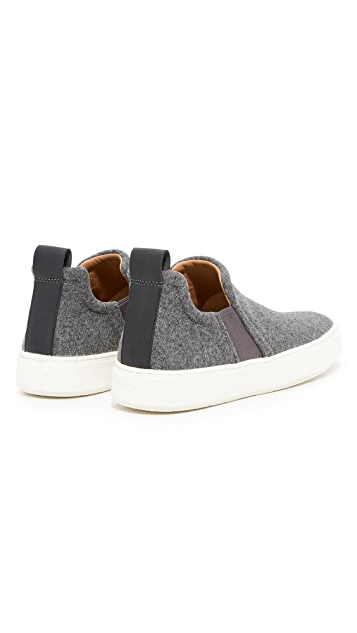 Vince Lucio Wool Pull On Sneakers