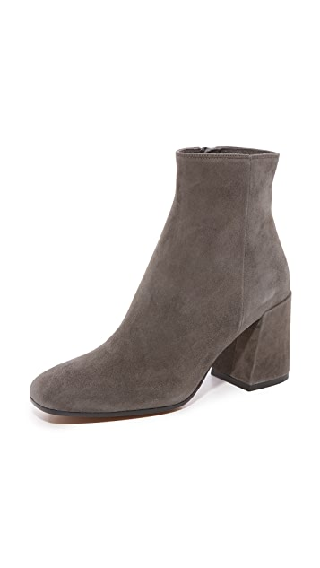 Vince Highbury Classic Square Toe Ankle Booties