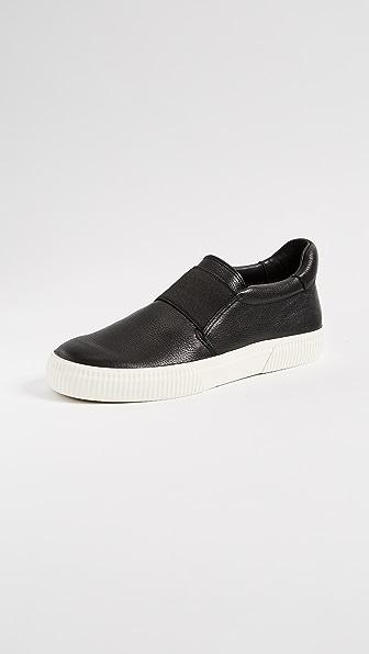 Vince Kirkland Platform Slip On Sneakers
