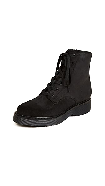 Vince Monastir Lace Up Combat Boots