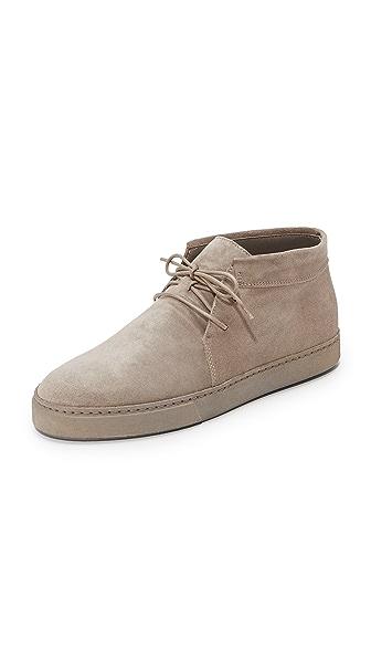 Vince Novato Chukka Sneakers In Woodsmoke