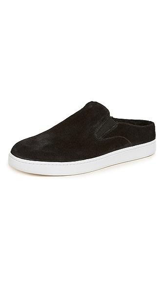Vince Verrell 3 Slip On Mule Sneakers In Black